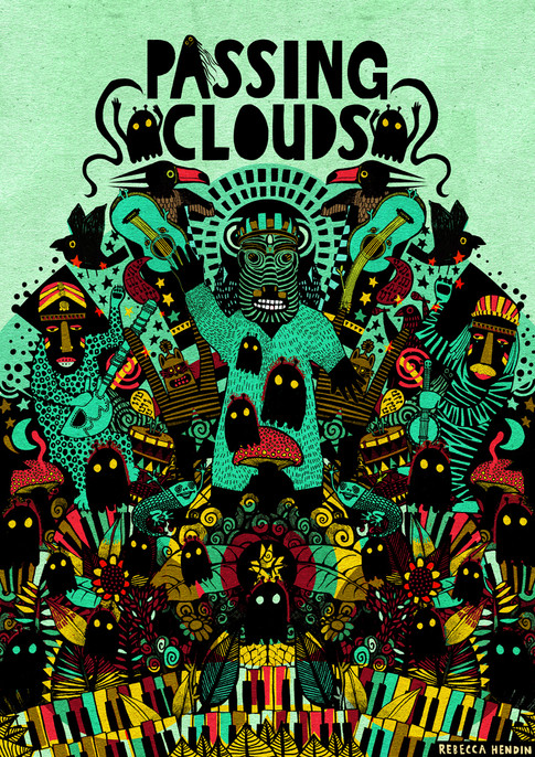 Rebecca Hendin Passing Clouds shirt 15K-
