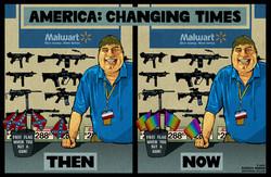 Rebecca-Hendin-walrmart-corporate-guns-marriage-confederate-flag-cartoon-illustr