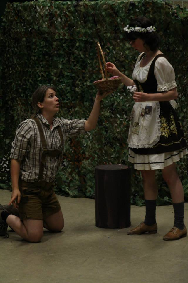 Hansel and Gretel (Rehearsal)
