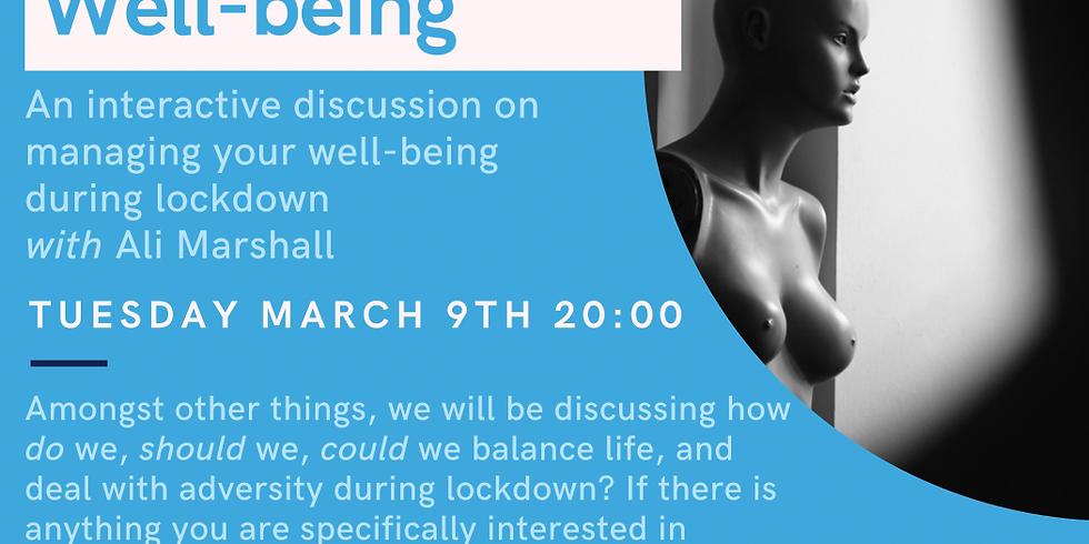 CIBCA - Lockdown well-being