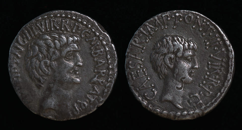 Mark Antony and Octavian, Spring-early summer 41 BC, C. 517/2