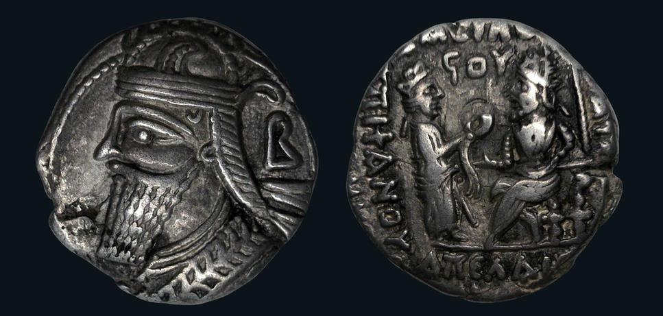 Parthia, Vologases IV, AD 147-191