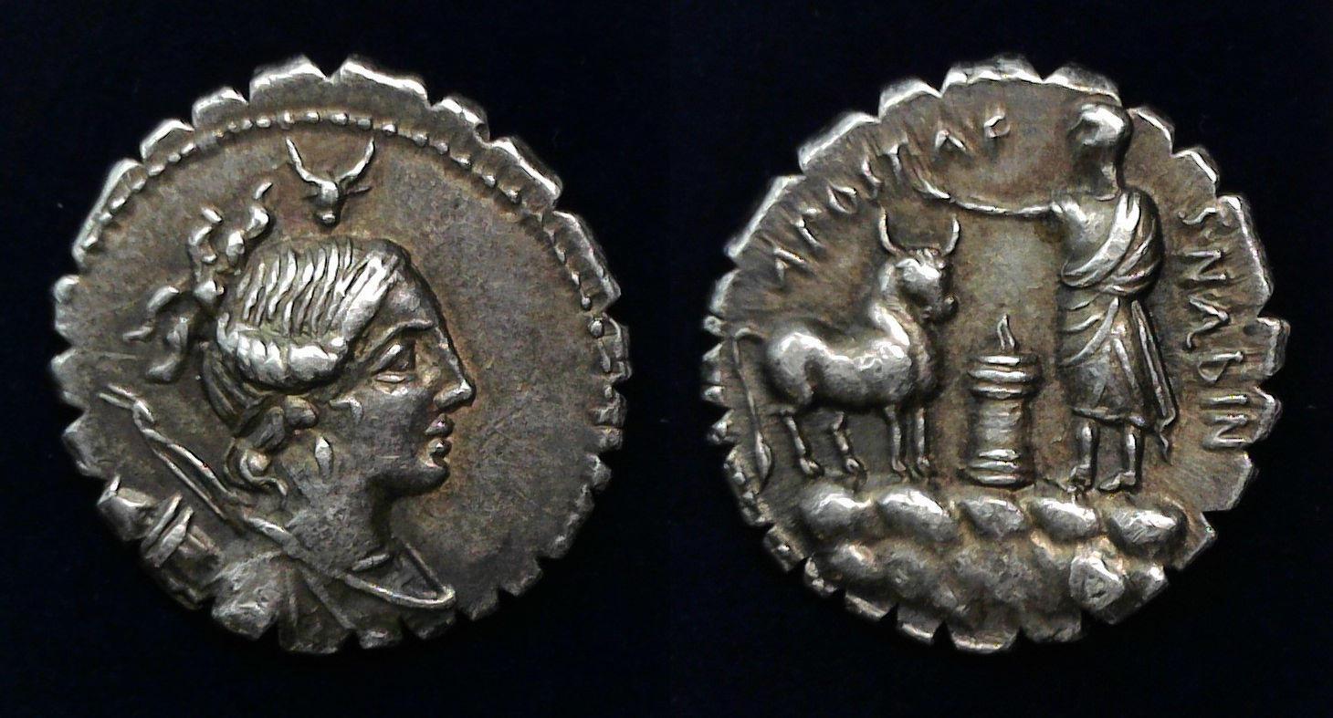 A. Postumius A.f. Sp.n. Albinus, 81 BC, C. 372/1