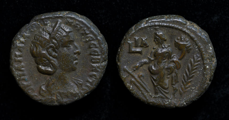 Egypt, Alexandria, Julia Mamaea, Augusta, AD 222-235