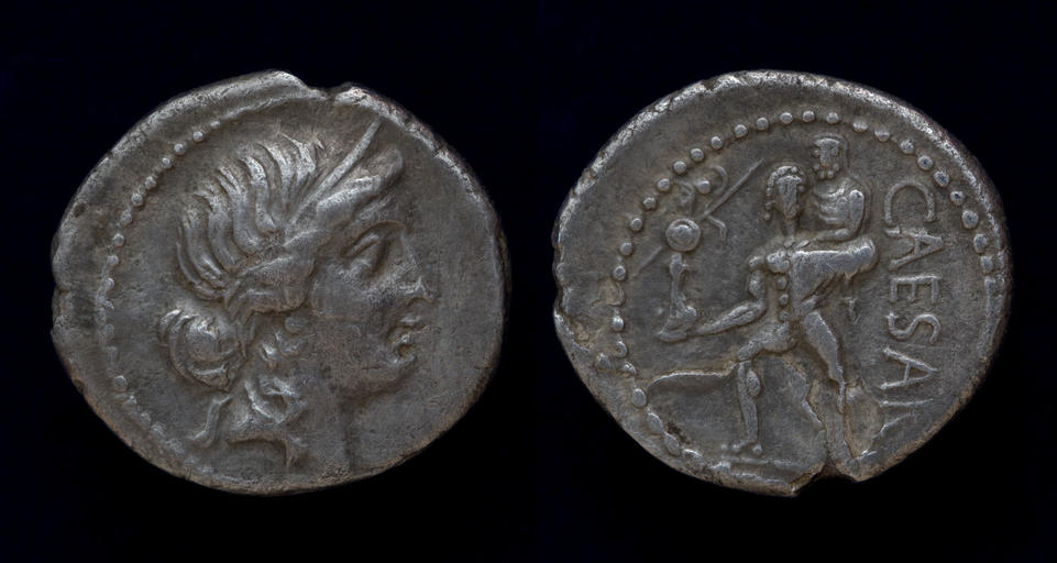 Julius Caesar, 47-46 BC, C. 458/1