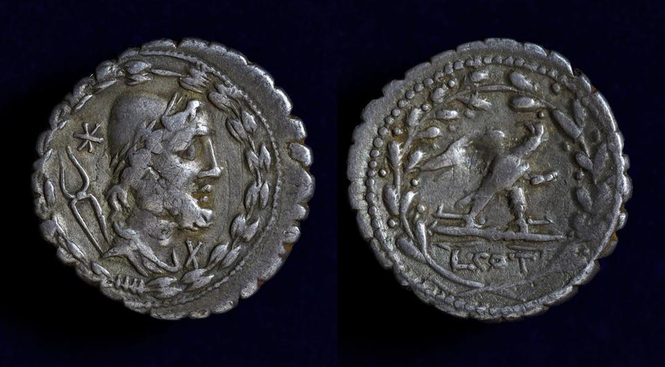 Lucius Aurelius Cotta, 105 BC, C. 314/1c