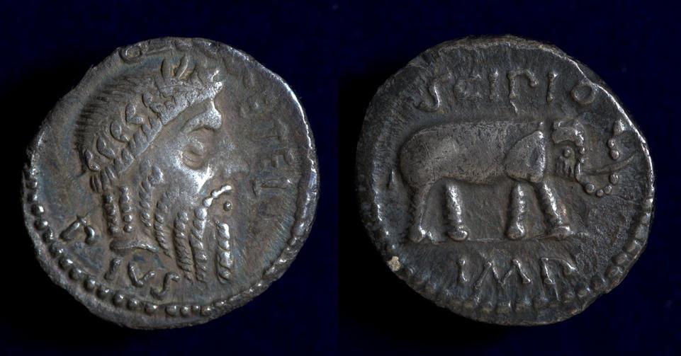 The Pompeians, Q. Caecilius Metellus Pius Scipio, 47 BC - Spring 46 BC, C. 459/1