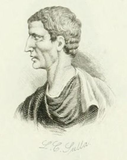 L.C. Sulla, Image from the Universal Historical Dictionary, 1825