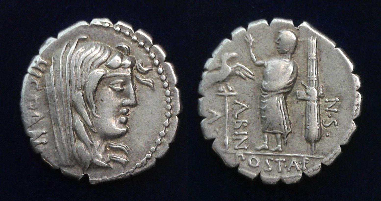 A. Postumius A.f. Sp.n. Albinus, 81 BC, C.d 372/2