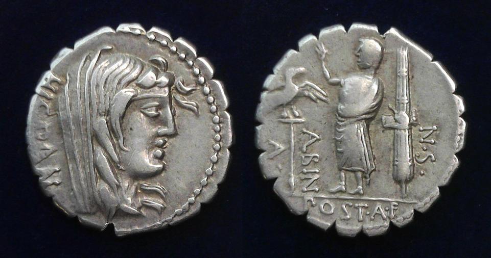 A. Postumius A.f. Sp.n. Albinus, 81 BC, C. 372/2