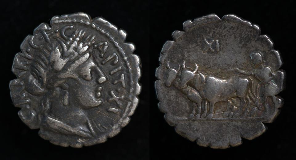 C. Marius C.f. Capito, 81 BC, C. 378/1a
