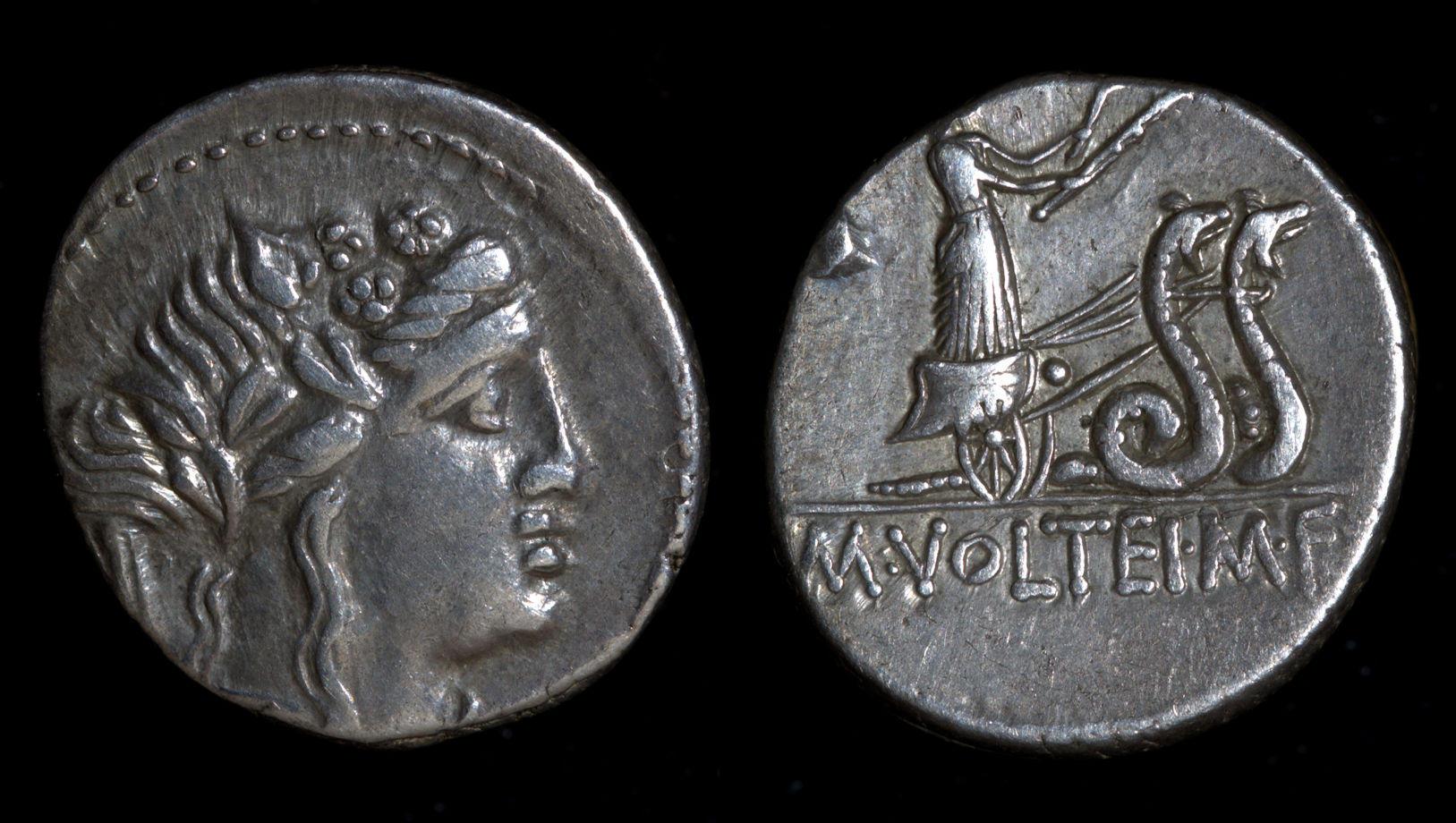 M. Volteius M.f., 75 BC, C. 385/3