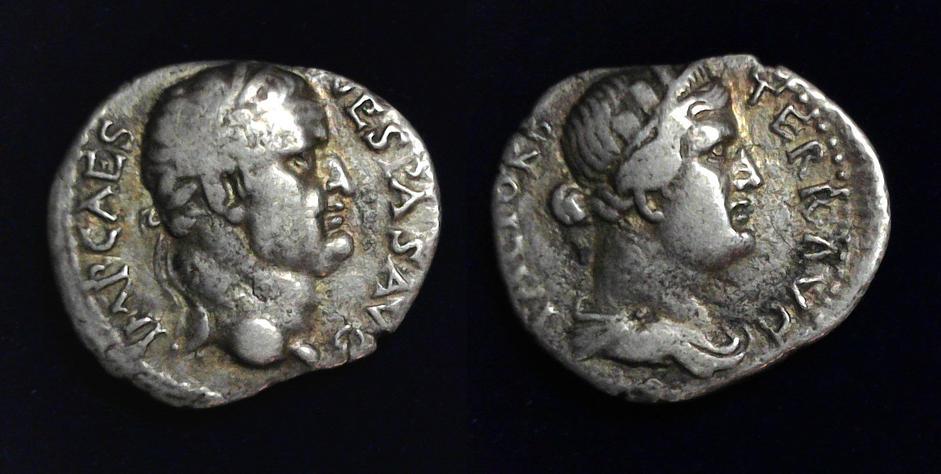 Vespasian (AD 69-79), AR denarius, Ephesus, July-December AD 69