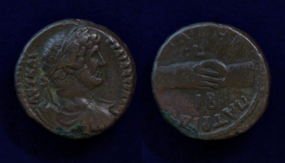 Egypt, Alexandria, Hadrian, AD 127/8