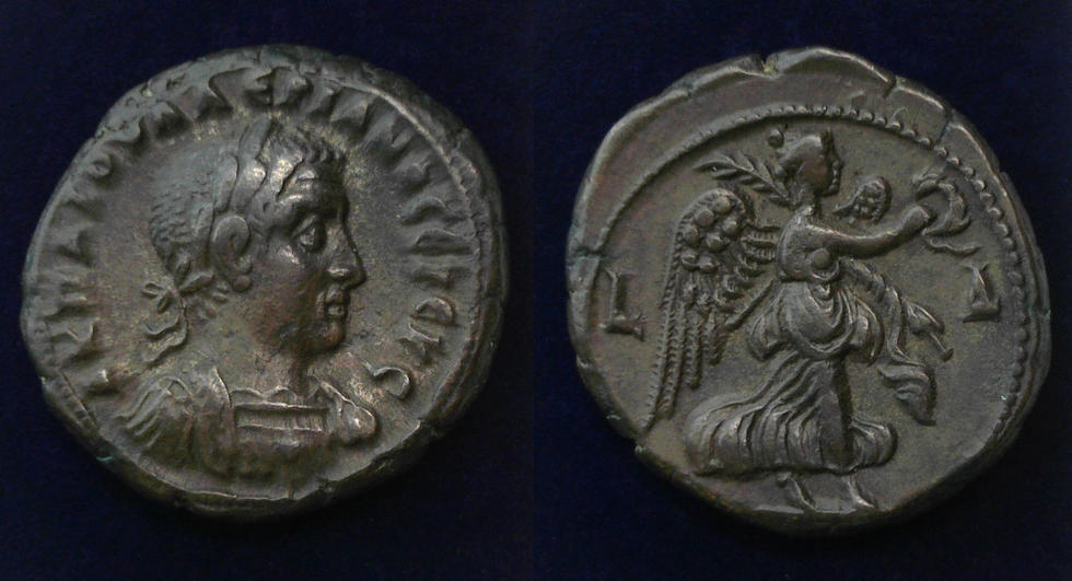 Egypt, Alexandria, Valerian I, AD 253-260