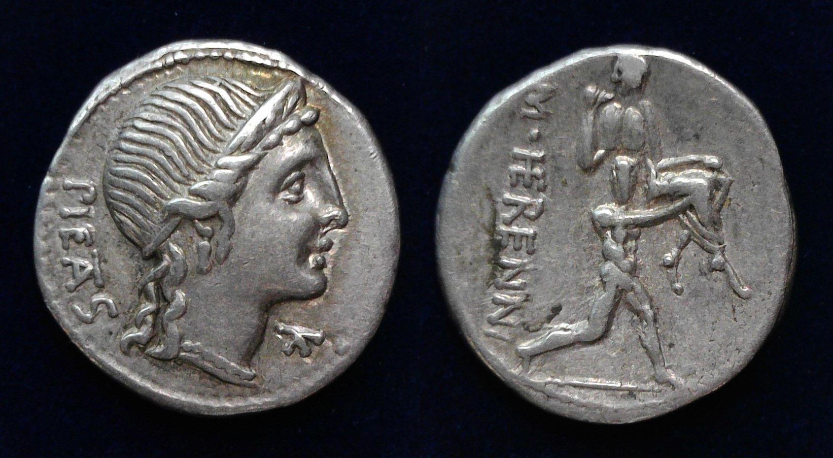 M. Herennius, 108-107 BC, C. 308/1a