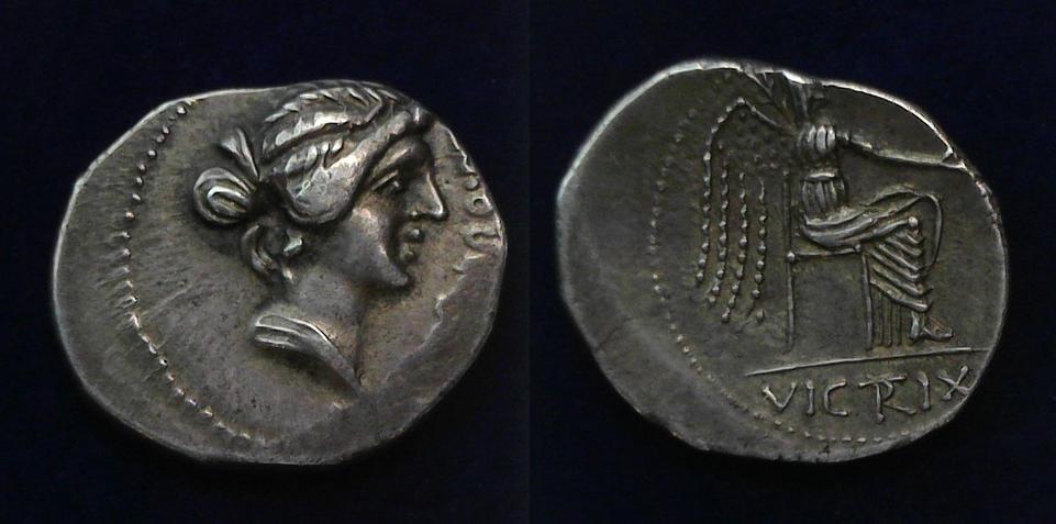 M. Porcius Cato, Cato the Younger, 47-46 BC, Cr. 462/1c
