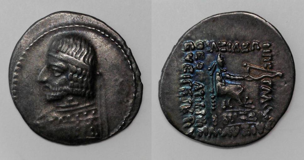 Parthia, Arsakes XVI, 78-62 BC