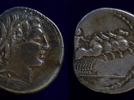 Sulla, Marius and an Anonymous denarius