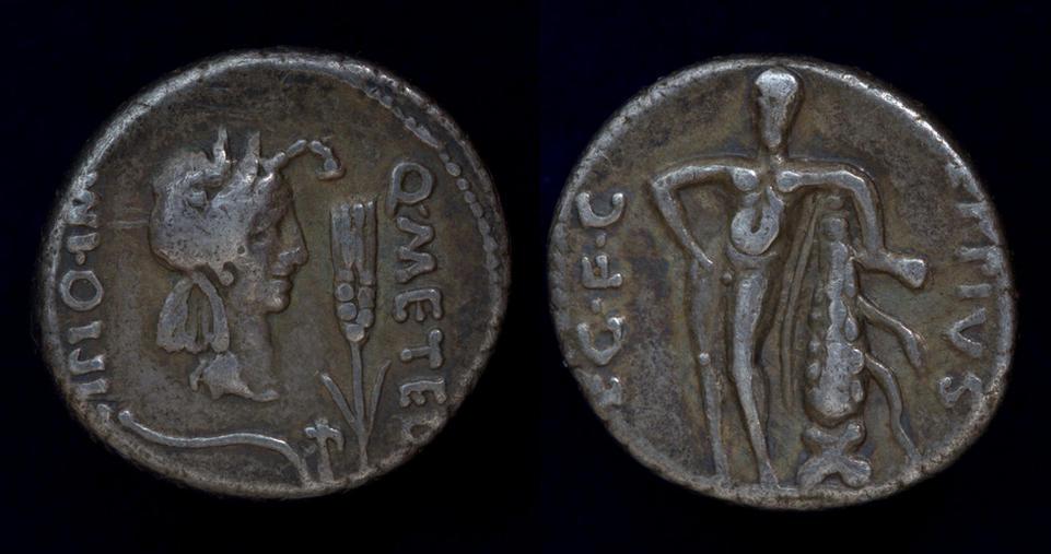 The Pompeians, Q. Caecilius Metellus Pius Scipio, 47-46 BC, C. 461/1