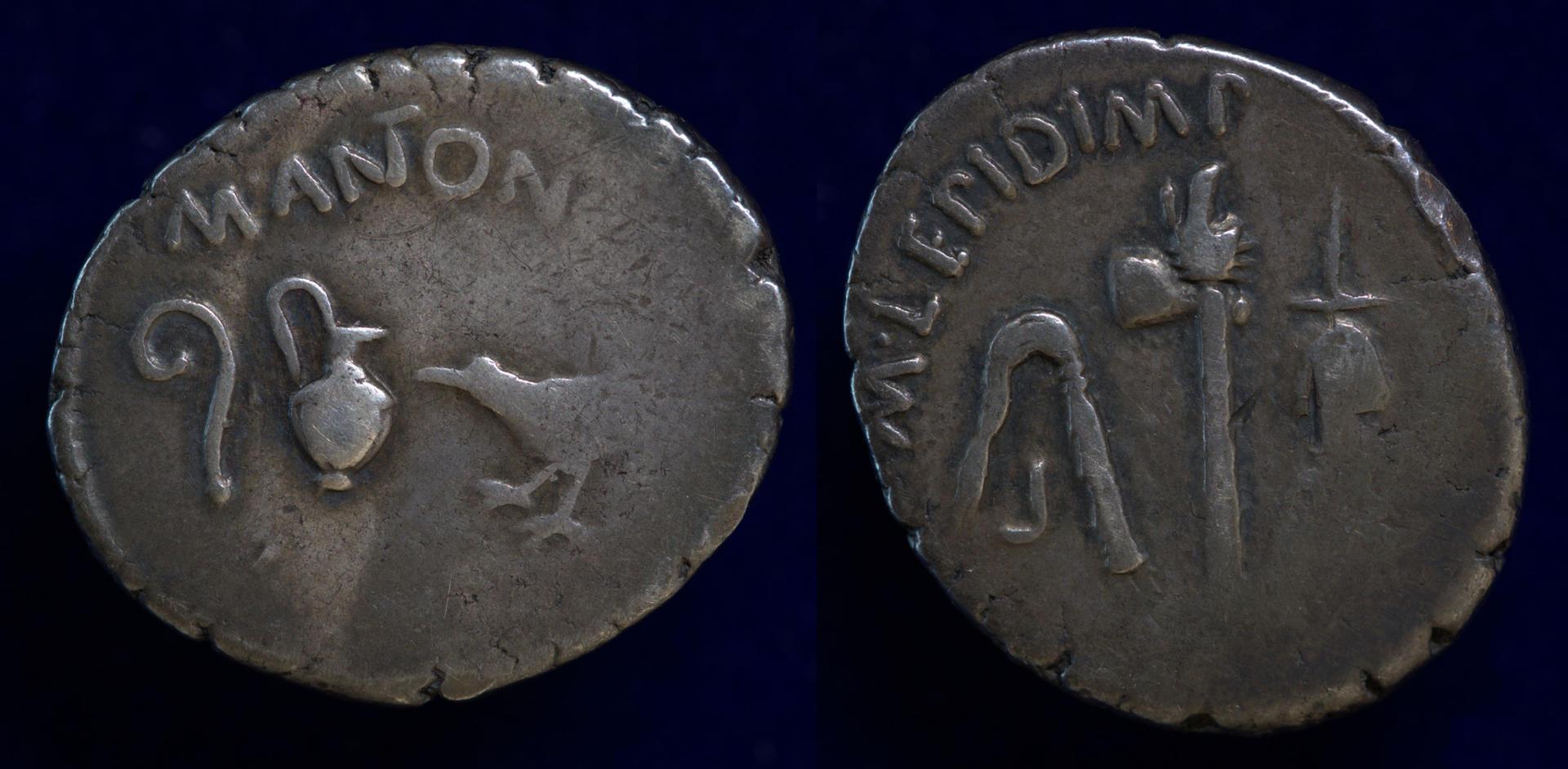 Mark Antony and M Aemelius Lepidus, 42-43 BC, C. 489/2