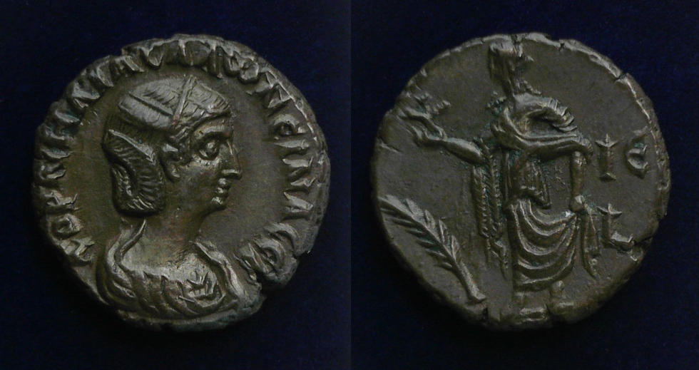 Egypt, Alexandria, Salonina, AD 254-268,