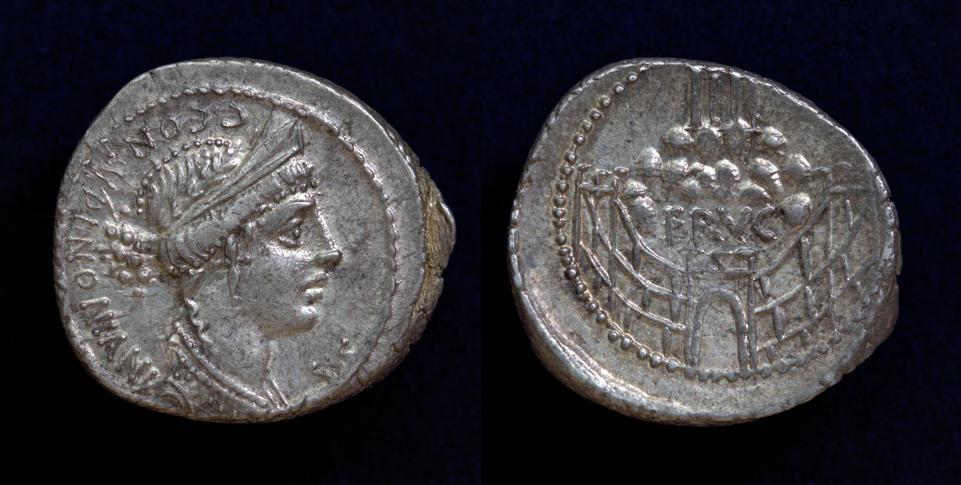 C. Considius Nonianus, 56 BC, C. 424/1
