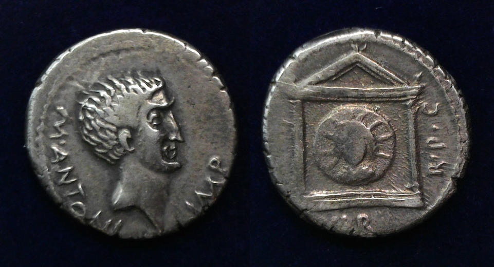 Mark Antony, 42 BC, C. 496/1