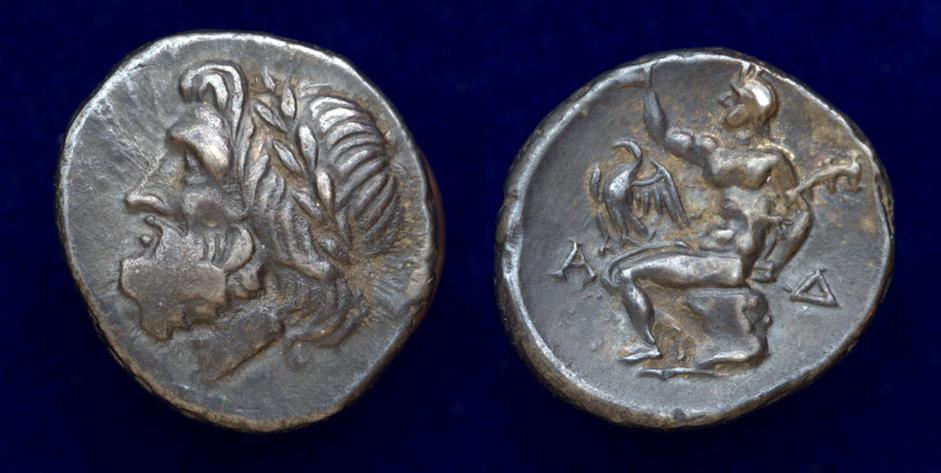 Arcadia, Arcadian League, circa 370-280 BC, AR Hemidrachm