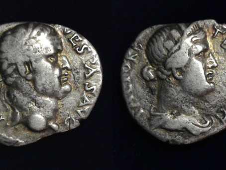 Coins of Vespasian from Ephesus