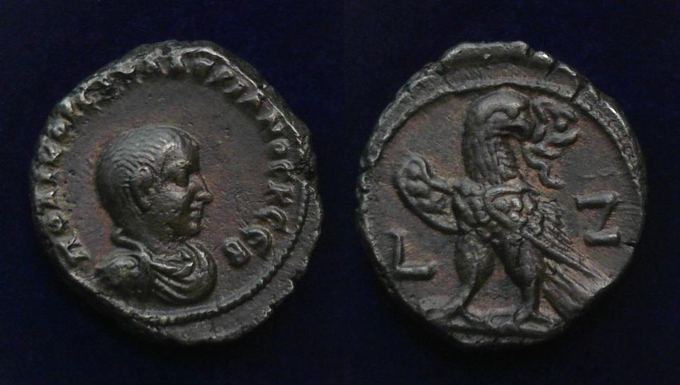 Egypt, Alexandria, Saloninus, As Caesar, AD 258-260