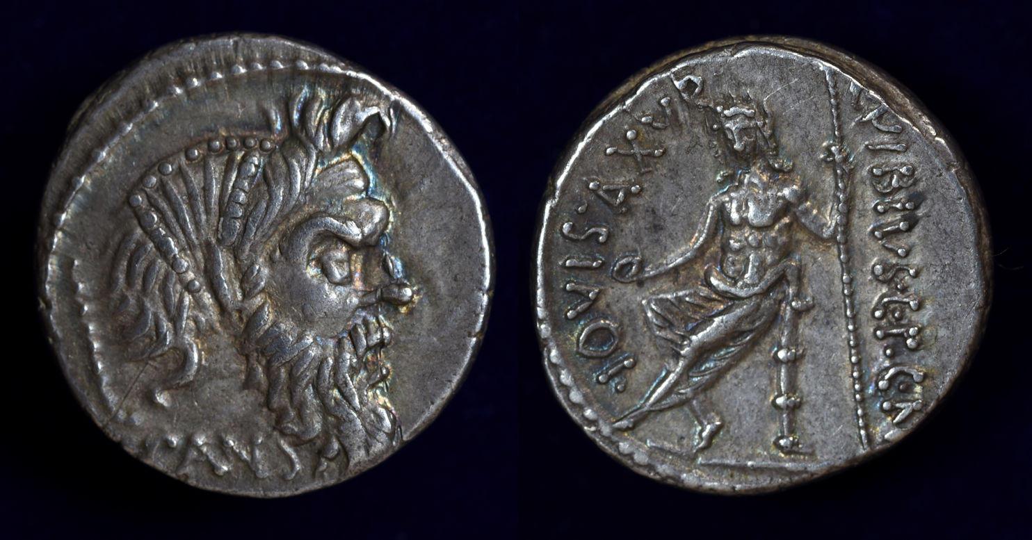 C. Vibius C.f. C.n. Pansa Caetronianus, 48 BC, C. 449/1b
