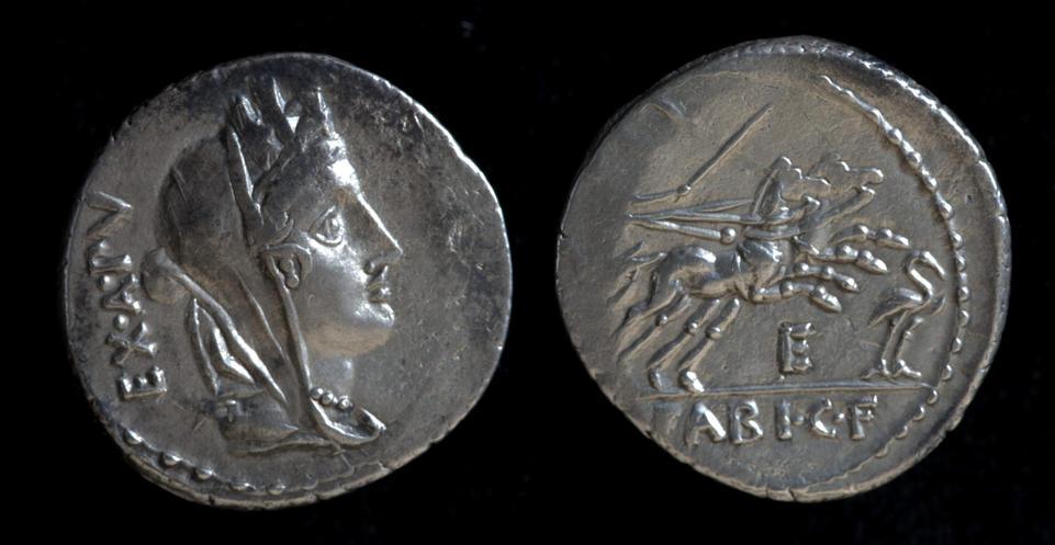 C. Fabius C. f. Hadrianus, 102 BC, C. 322/1b