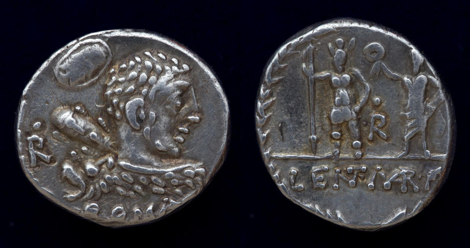 P. Cornelius Lentulus Marcellinus, 100 BC, C.  329/1a