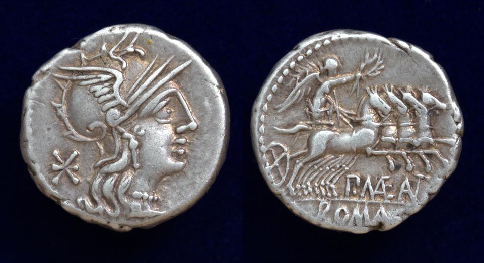 P. Maenius Antiaticus M.f., 132 BC, Cr. 249/1