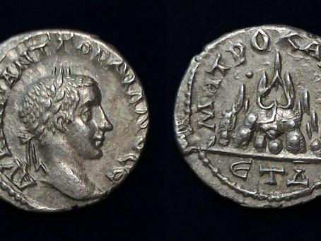 Mt. Argaeus, Gordian III, and Shapur I
