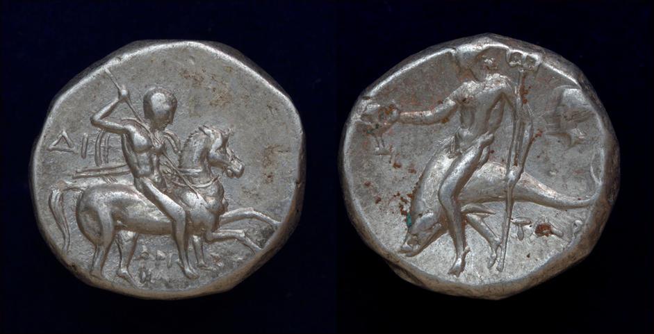 Calabria, Tarentum, circa 272-235 BC