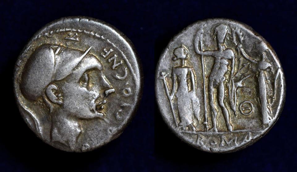 Cn. Blasio Cn.f., 112-111 BC, C. 296/1c