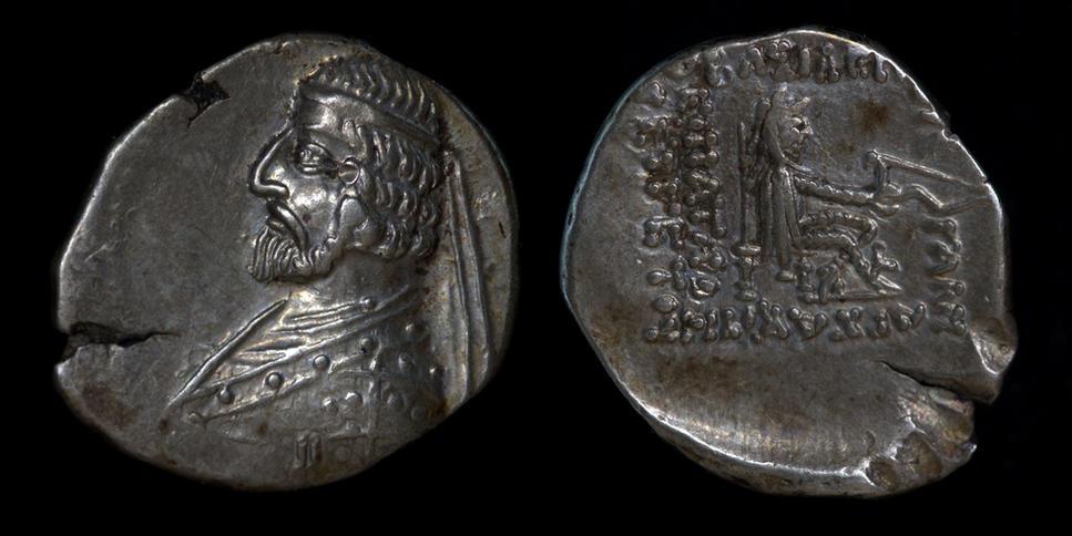Parthia, Arsakes XVI, circa 78/7-62/1 BC