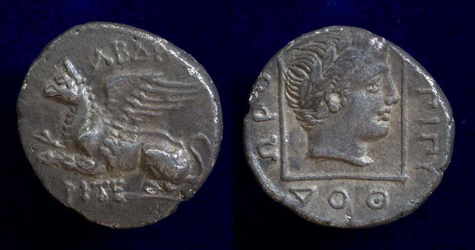 Thrace, Abdera, circa 336-311 BC