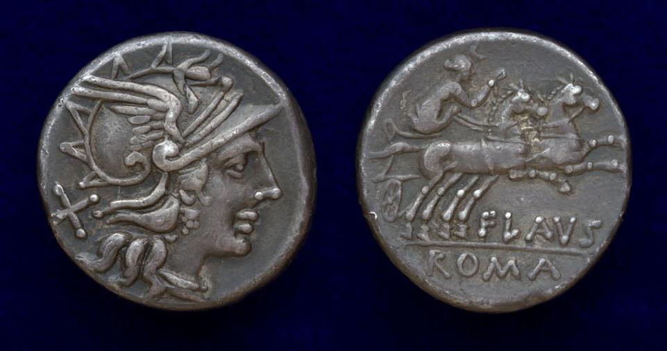Decimius Flavus, 150 BC, C. 207/1