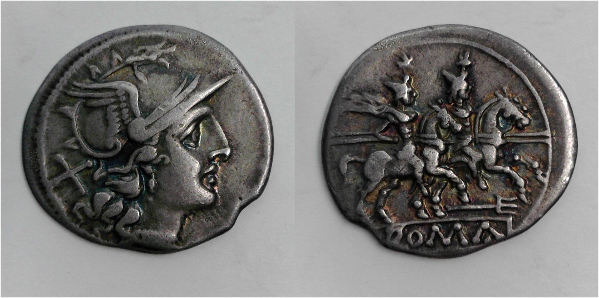 Anonymous Trident, 206-195 BC, C. 115/1