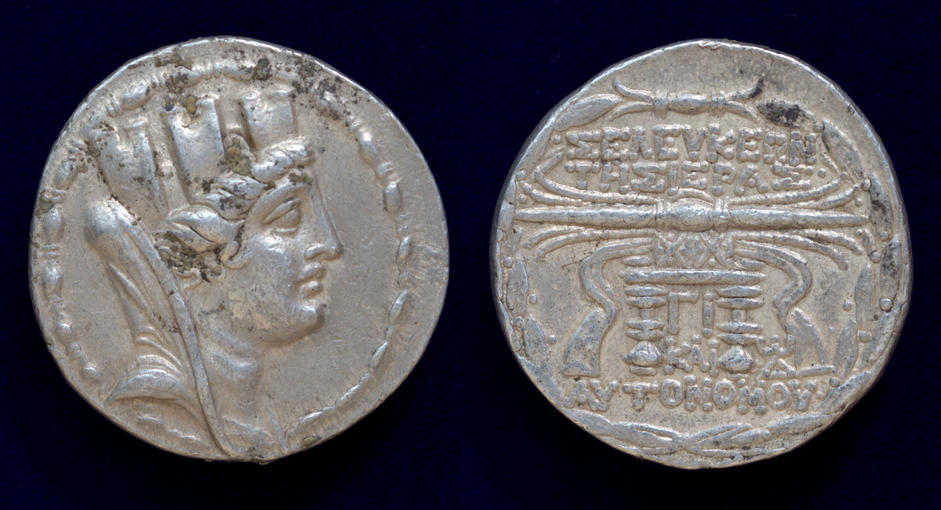Seleukis and Pieria, Seleukeia Pieria, 105/4-83/2 BC