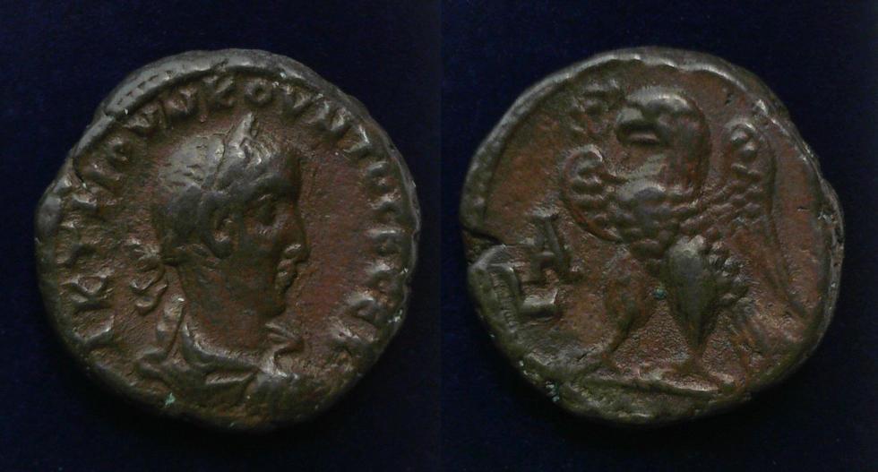 Egypt, Alexandria, Quietus, Usurper, AD 260-261
