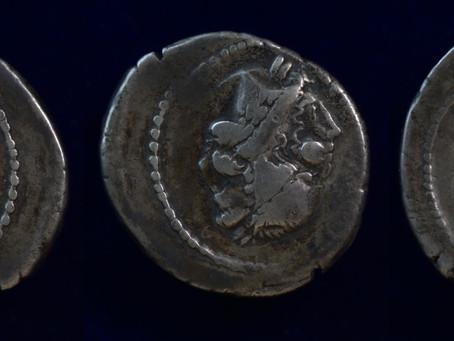 46 BC 180 Obverse Double Strike