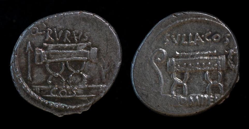 Q. Pompeius Rufus, 54 BC, C. 434/2 (error)