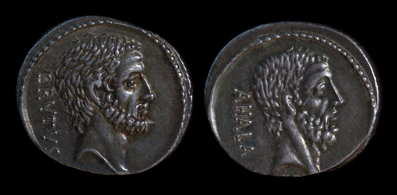 M. Junius Brutus, 54 BC, 433/2