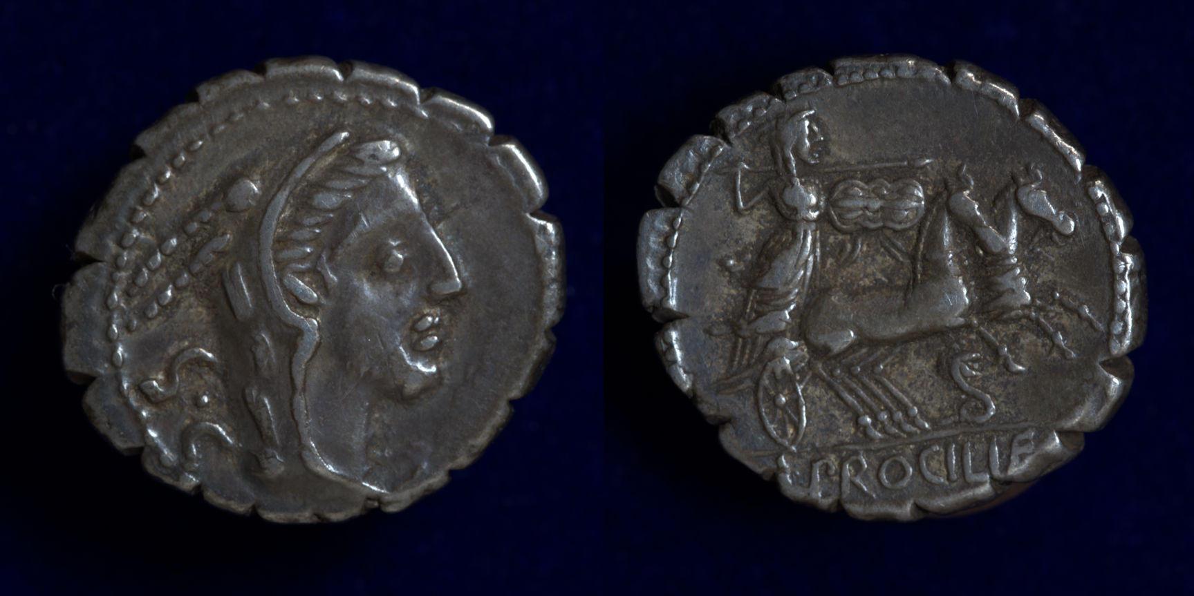 L. Procilius, 80 BC, C. 379/2
