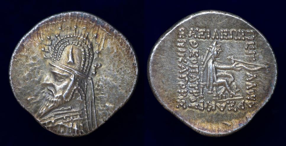 Parthia, Sinatrukes, 93/2-70/69 BC