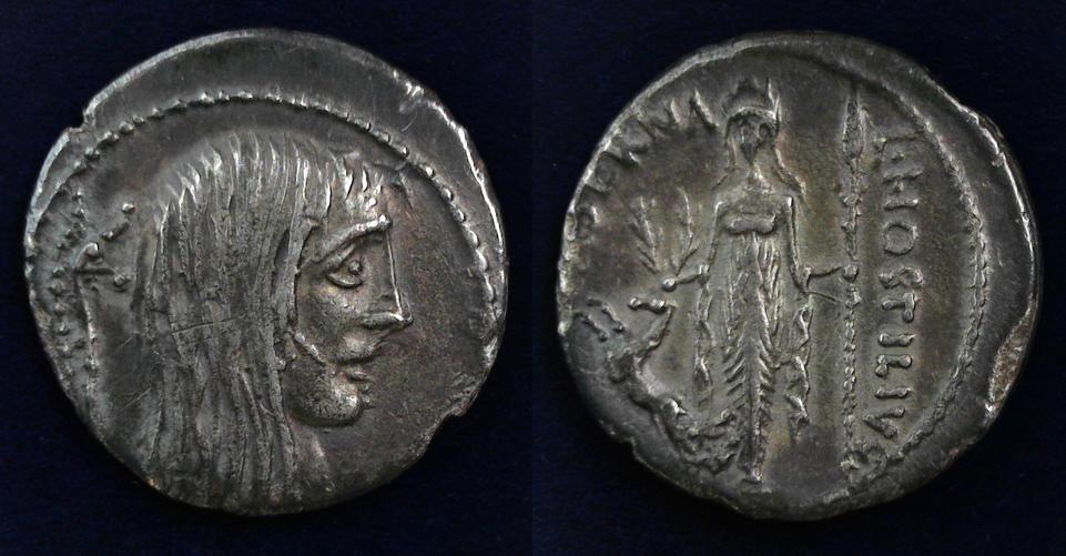 L. Hostilius Saserna, 48 BC, C. 448/3